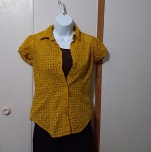 New York &company/ Size-small/ Yellow blouse